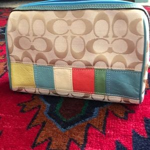 Preloved Coach Cosmetic bag!